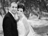 Сватбена фотосесия - в черно бяло -  Деси и Петко