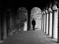 Сватбена фотография черно на бяло