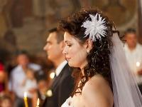 Златка пред олтара