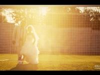 Сватба на залез слънце