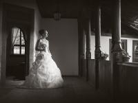 Ретро сватбен портрет