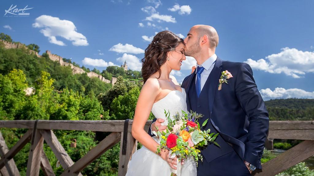 Сватба във Велико Търново