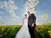 Сватбена фотосесия в рапицата