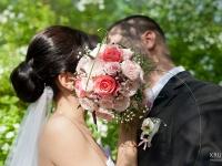 Сватбена фотосесия - Сватбен букет