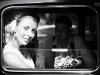 Wedding portret in Black and white