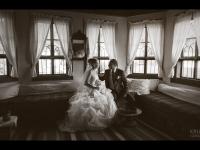 Ретро сватбена фотосесия